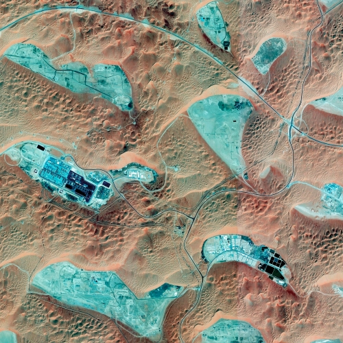 "1.5 Oil Extraction, ""Empty Quarter"", Saudi Arabia"